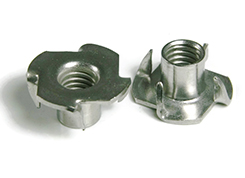 T-Nut (Four Prong Tee-Nut) DIN 1624