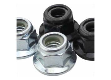 Nylon / Metal Insert Flange Lock Nut