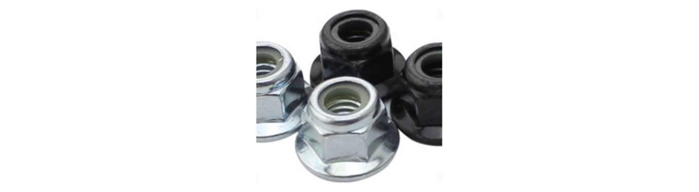 Nylon / Metal Insert Flange Lock Nut